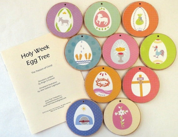 Spring Holy Week Easter Ornaments
