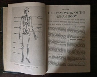 Vintage The Miracle of the Human Body Book / English Shop