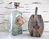 Seaside Sale! Blowfish Decanter/Bottle. Real Blowfish by searchnrescue2