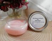 SALE - 8 oz Soy Pink Sugar Candle