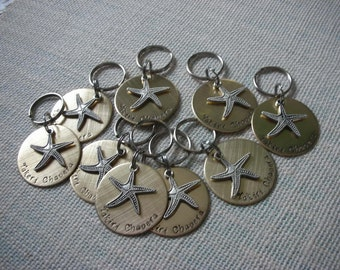 Make a Difference Keychain-Corporate Gifts-Starfish Thrower-Starfish-Thank You Gift