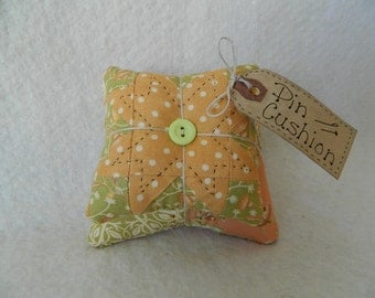 Pin Cushion ~ Original Design Pin Keeper ~ Mothers Day Gift