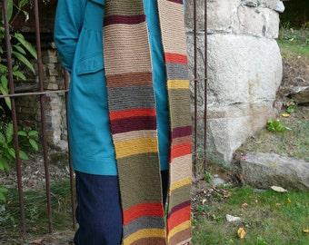 "Closing Sale!  Season 14 Scarf ""Skinny Version"" -  Wool Premium Colors"