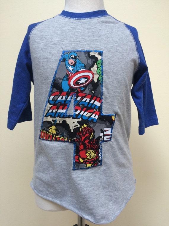 Custom avengers baseball t shirt for Custom baseball tee shirts