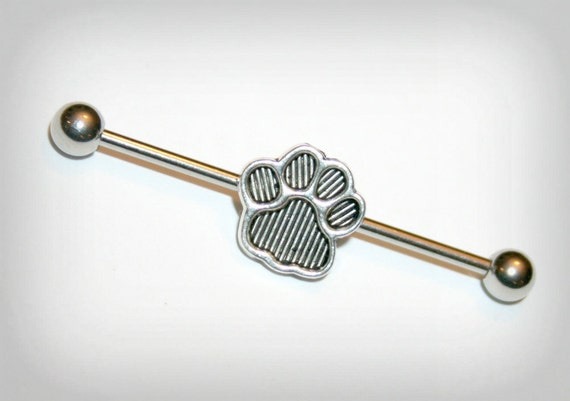 industrial barbell industrial piercing jewelry