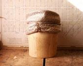 Vintage Balsa Wood Hat or Wig Form - Millinery Hat Mold