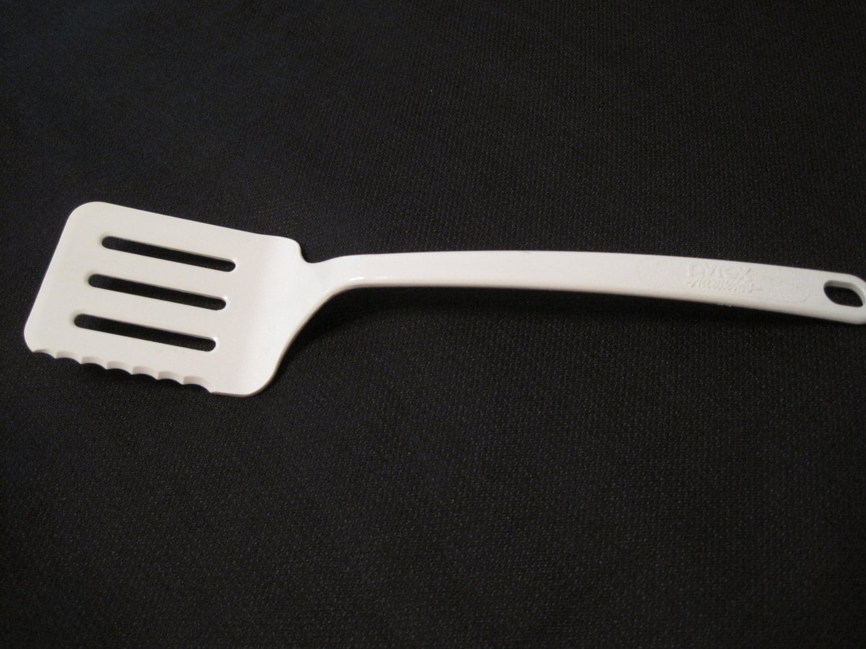 Vintage Pyrex Accessories White Plastic Kitchen Utensil