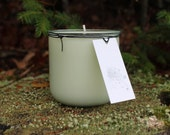 10oz Recycled Glass Classico Candle Jar-Chic and Elegant Gift -Vermont Cottage Candles