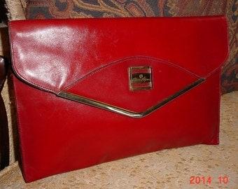 Vintage Etienne Aigner Clutch Ladies Handbag Purse