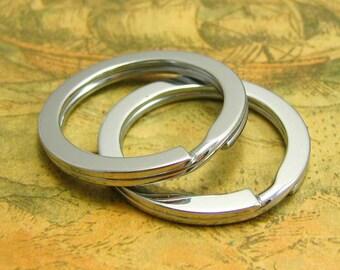 10 pcs Keychain Rings Spilt Rings Key Rings 30mm CH2157