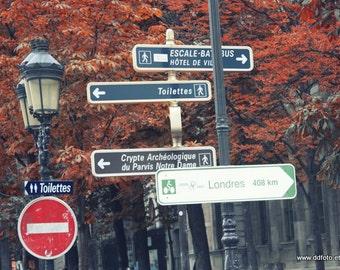 To Londres in Paris -  Fine Art Print Photography Black and White or Color  Photography, la photographie de Paris