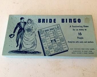 Vintage Bride Bingo/ Wedding Game/ Vintage Wedding