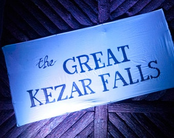 Photo magnet - Great Kezar Falls