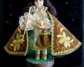 Vintage Santo Ninos Dios Young Jesus Religious Icon Statue