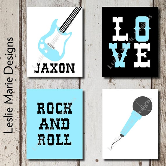 Rock n roll baby rock n roll decor rocker baby nursery for Rock n roll baby crib set