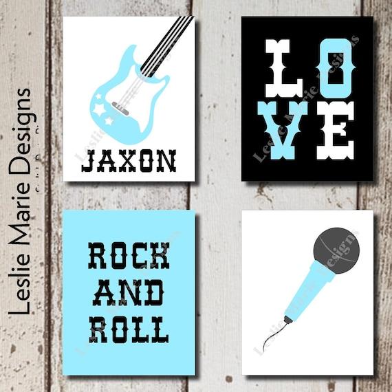 Https Www Etsy Com Listing 220798705 Rock N Roll Decor Rockstar Rock N Roll