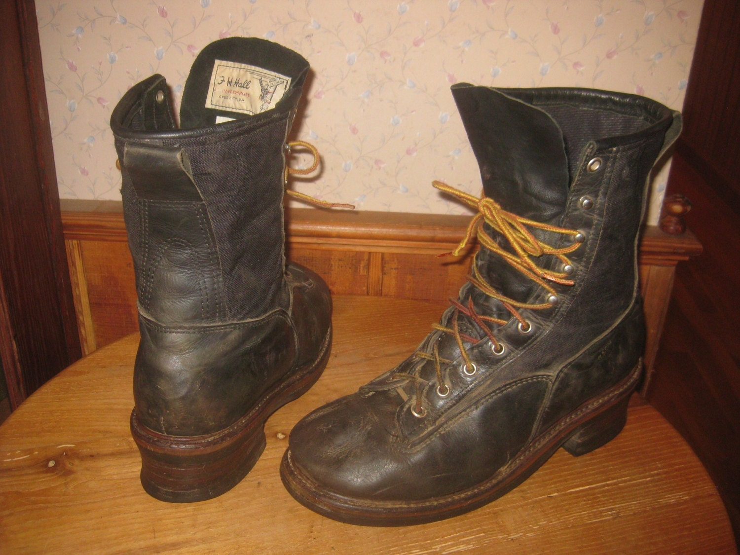 Hall S Lineman Boots Non Steel Toe Mens 10 1 2 D