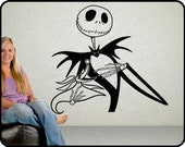 Jack Skellington Wall Decal / Nightmare before Christmas Wall decal / decal sticker / Zero dog