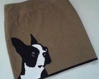 Boston Terrier Skirt