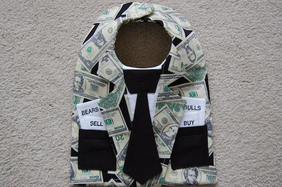 The Stock Trader Jacket Wall Street Bib