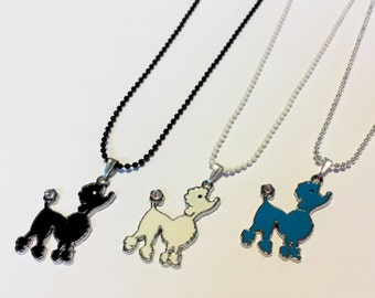 Sale! more poodle dog Necklaces