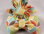 Dog Flower or Bow Tie -  Tile Pile