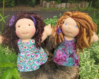 Custom Waldorf Doll DEPOSIT, 10 inch doll, made to order October 2016