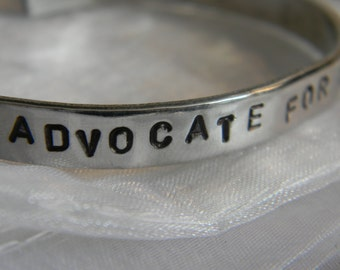 Advocate For those Who Can't