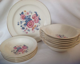 Taylor Smith Taylor Luray pattern set of 13