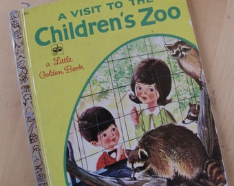 A Little Golden Book - A Visit to the Children's Zoo