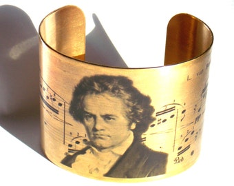 Ludwig van Beethoven Piano Music Cuff