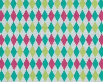 Mini Harlequin - Michael Miller Fabric -  Pastel