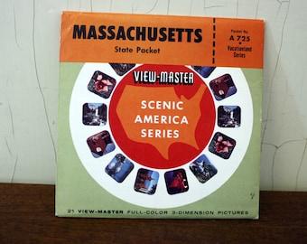 Vintage Massachusetts View-Master Discs (E4869)