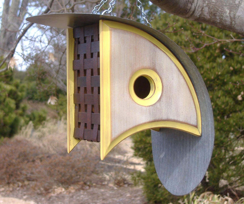 Modern Bird Houses Birdhouse With A View Bird House