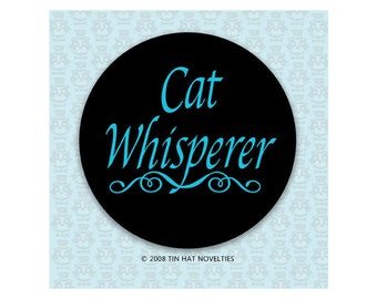 Cat Whisperer Sticker