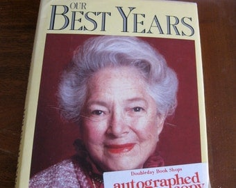 Helen Hayes Signed First Edition Book