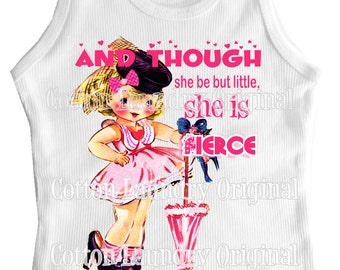tank tee shirt one piece body suit tshirt And though she be but little, she is fierce