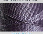 Linhasita Polyester Waxed Thread - 232 Lilac -  172m / 1mm