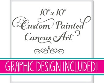 Premium Custom Painted Canvas Art Canvases