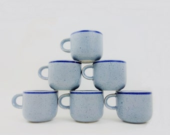 6 Porcelain Expresso Cups from Rosenthal Studio Linie Germany