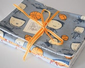 Burp cloth set - baby boy
