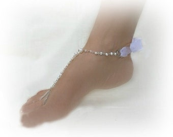 Barefoot Sandals Wedding, Pearl Jewelry, barefoot shoes, footless sandal, wedding jewlery, pearl barefoot sandals, chain barefoot sandals