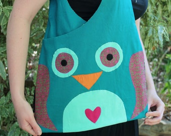 ON SALE Owl Tote Bag