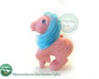 Vintage My Little Pony Firefly Pegasus 1980s Toy Needs TLC