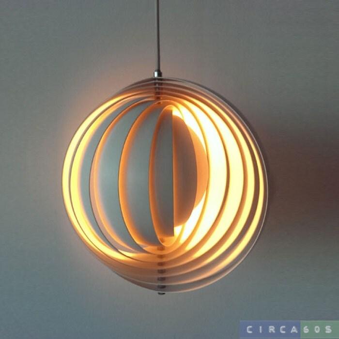 moon lamp visor by verner panton for louis poulsen 1960. Black Bedroom Furniture Sets. Home Design Ideas