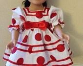 Shirley Temple replica doll dress