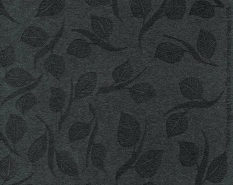 Artist Paper 18 x24 - 3 Sheets Black Leaves Design for Bookbinding Paper Arts and Packaging