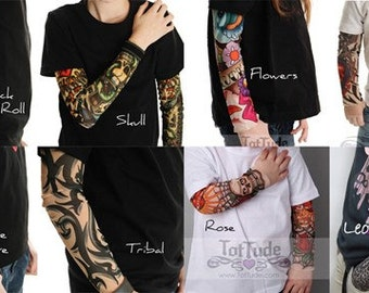 Custom Tattoo Sleeve Shirt for Big Kids