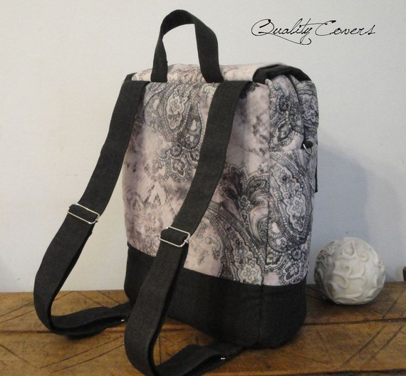 Backpack Customizable for Color Fabric and Size- COMPARTMENT Padded Laptop- Bacpack Fully Padded - interior Pockets - Water Resistant lining