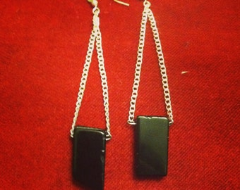 Dangle Black Crystal
